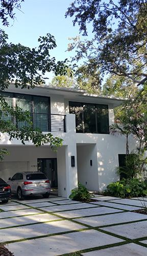 Front/side of house in Coconut Grove