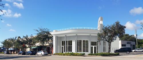 Rendering of future commercial building in NE 2nd Avenue - Miami Shores