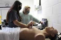 Gadsden State's DMS program adds ultrasound training simulators