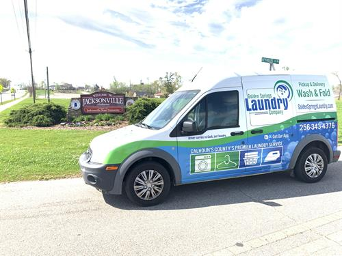 Pick Up and delivery at your home or business.