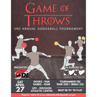 Game of Throws- Dodgeball Tournament