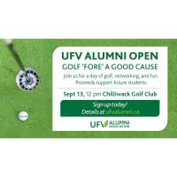 5th Annual UFV Alumni Open