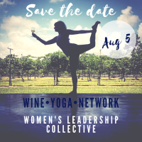 WLC Social-Yoga and Wine at Whispering Horse Winery