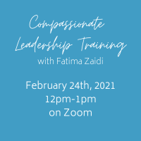 Compassionate Leadership Workshop