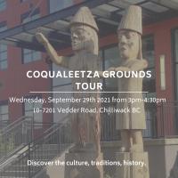 Coqualeetza Grounds Tour - Sonny McHalsie