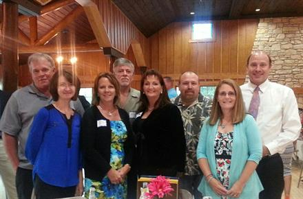 TEMP Associates employees at the 2016 Annual Chamber Meeting