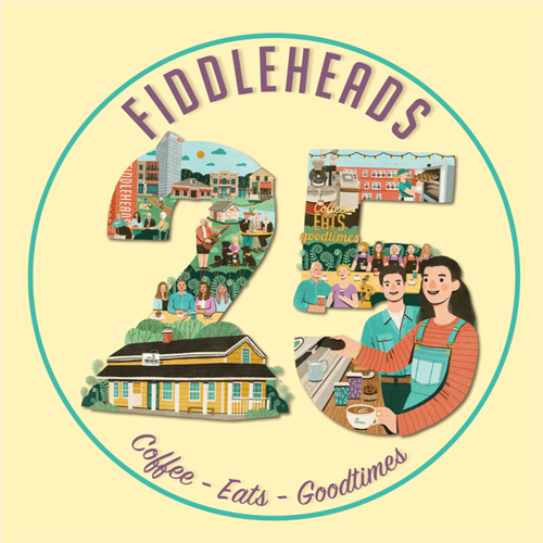 Fiddleheads celebrating 25 years in the coffee industry