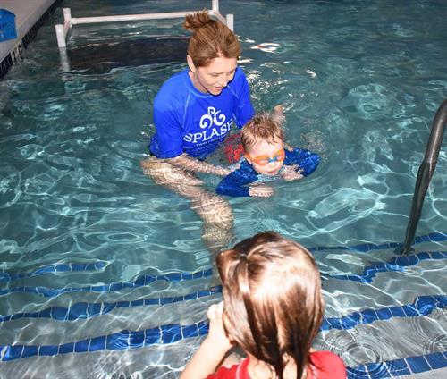 "Swim class with Splash! owner Kimberly (2020 ""Winter"" session)."