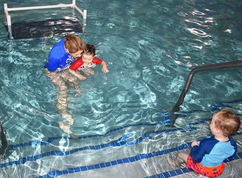 "Swim class with Splash! owner Kimberly (2020 ""Winter"" session)."