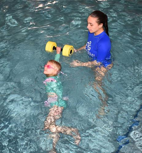 Swim class with Instructor Emma (2020 Winter session).