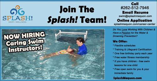 We are hiring caring swim instructors!