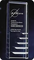 CY47 Steps to Success Crystal Award