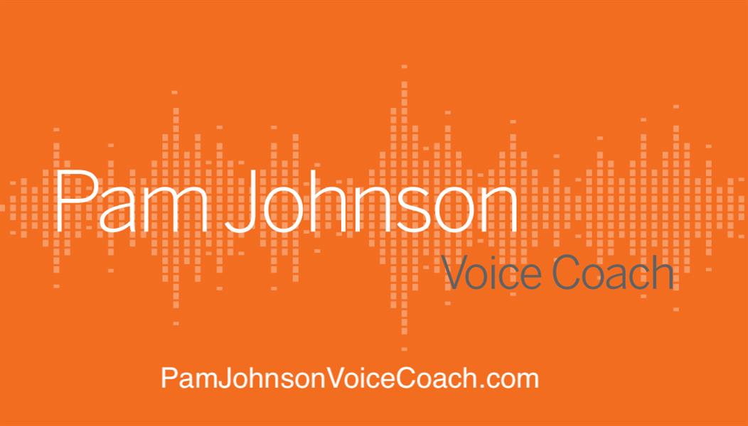 Pam Johnson Voice Coach