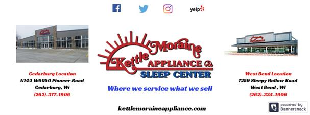Kettle Moraine Appliance and Sleep Center