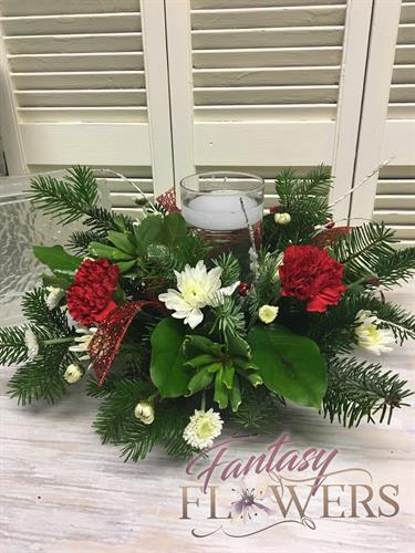 Holiday arrangements for parties & more.  All made to order. Fresh, created by our professional designers