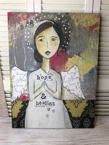 Hope - Kelly Rae Plaque