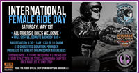 SMHD's Int'l Female Ride Day Run (All Welcome)