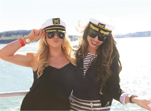 Fun cruising on the harbor!