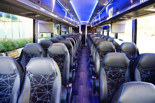 56 Passenger bus (interior)