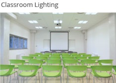 We can supply a wide range of lighting for a classroom