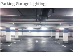 We can supply a wide range of lighting for a parking structure