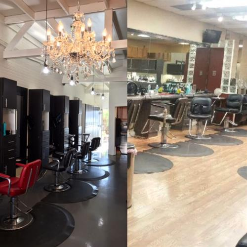 Before & After our remodel!