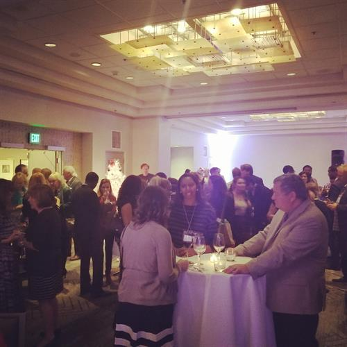 Networking @ Night Holiday Mixer - Renaissance LAX Hotel with the PIA ConRAC Team!