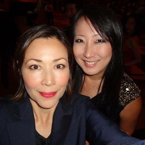 Ann Curry was my ultimate role model in the world of TV News. I was so thankful that she took this selfie of us before running off to breaking news in another country.