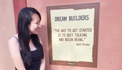 This quote from Walt Disney comes to mind as I build my dream as an Entrepreneur at Kimbop TV! Check out my Disney Travel Vlogs at YouTube.com/KimbopTV.