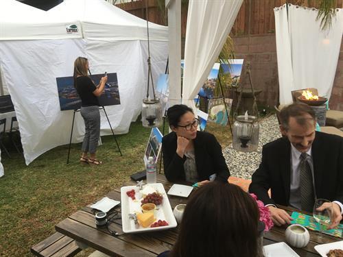 Cocktails + Conversation Outreach Event - Redondo Beach