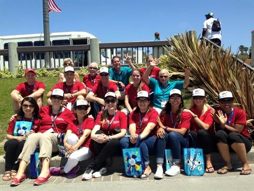 Team Building Event with Special Olympics - Redondo Beach