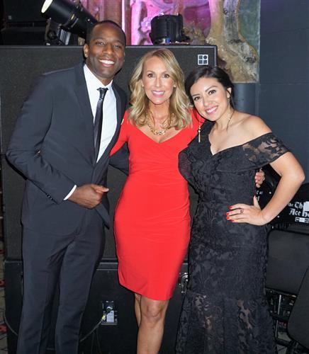 Radio Disney Daniel Dudley, Mary Hewitt, and ABC7 Ananbel Munoz