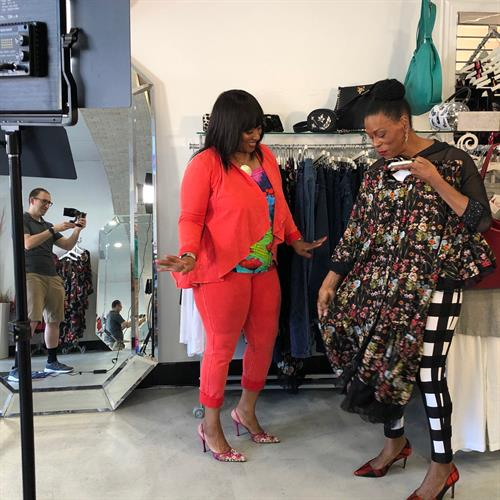 Shoot at All That & MORE Boutique in Culver City.