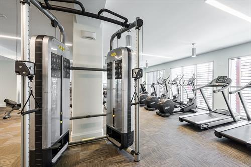 Two fitness Centers to choose from