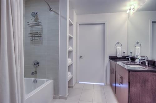 2 Bedroom - Master Bathroom