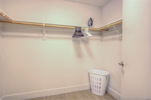 2 Bedrooom - Master Walk-In closet