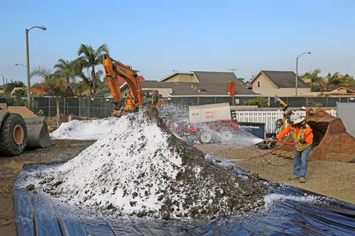Residential Area Service Station Remediation & Tank Removal - Seal Beach, CA