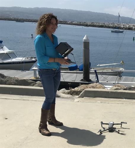 Launching the Mavic Pro Drone