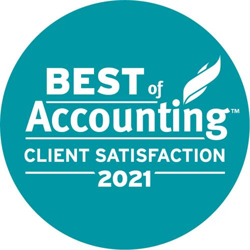 """The Pun Group wins 2021 """"Best of Accounting"""" by ClearlyRated."""