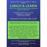 2019 May Lunch and Learn