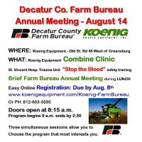 Decatur County Farm Bureau Annual Meeting