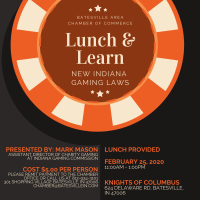 New Indiana Gaming Laws - Lunch and Learn 2020
