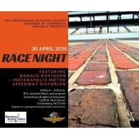 Race Night with Donald Davidson 2020
