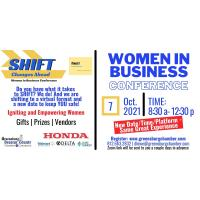 2021 Women in Business Conference: SHIFT - Changes Ahead