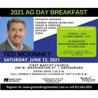 2021 Future in Farming Ag Breakfast featuring Ted McKinney