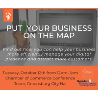 Put Your Business On The Map - Lunch & Learn