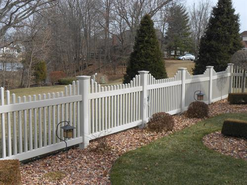 Fencing to keep your loved ones safe and secure.