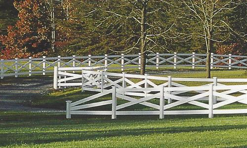 Rail fence for the farm/ranch or property definition.