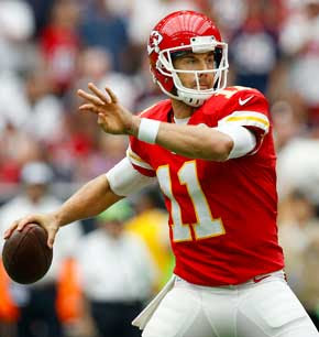 Come  see Alex Smith in the AFC Playoff game Jan 15