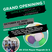 Green Rock Cannabis Lethbridge Grand Opening